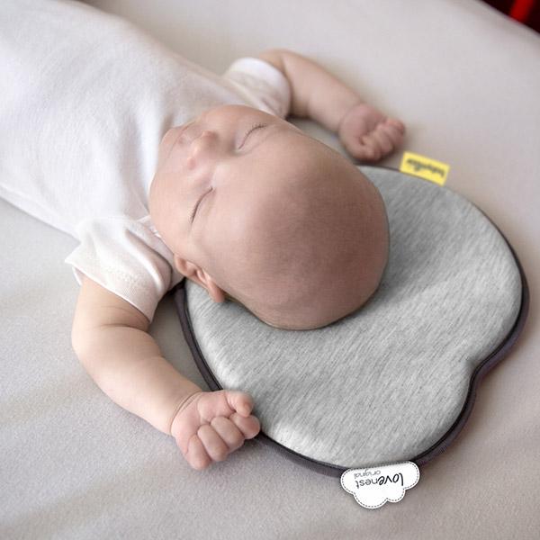 Cale tête bébé lovenest original smokey Babymoov