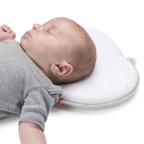 Cale tête bébé lovenest original blanc Babymoov