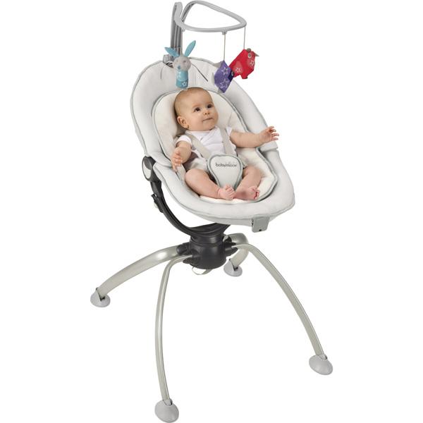 Transat bébé swoon up aluminium Babymoov