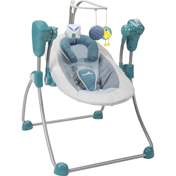 Balancelle bébé swoon bubble aluminium Babymoov