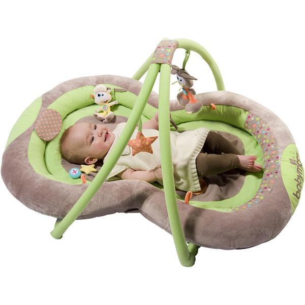 Nid d'éveil bébé taupe amande Babymoov