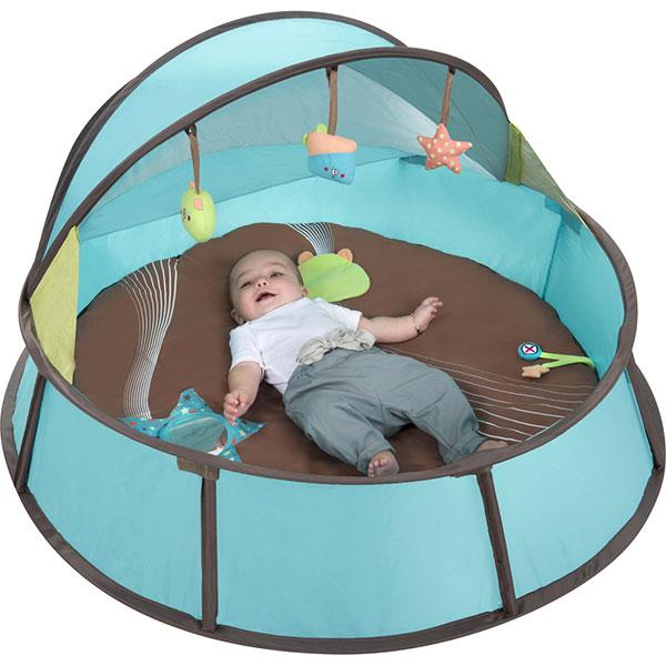 Jouet extérieur bébé tente babyni 2 en 1 Babymoov