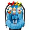 Jouet de lit bébé spirale d'activités fluo kiddo Babysun