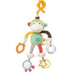 Jouet de voyage bébé singe avec pince clip pas cher