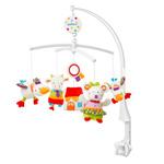 Mobile bébé musical fluo kiddo pas cher