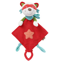 Doudou mouchoir deluxe chat