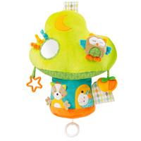 Jouet de lit bébé arbre musical et lumineux deluxe sleeping forest