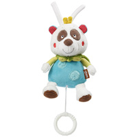 Peluche bébé musicale panda