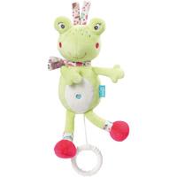 Peluche bébé musical grenouille