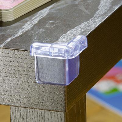 Lot de 4 protège coins transparents Babysun