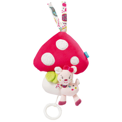 Jouet d'éveil bébé musical champignon Babysun