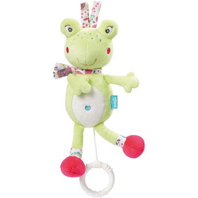 Peluche bébé musical grenouille Babysun