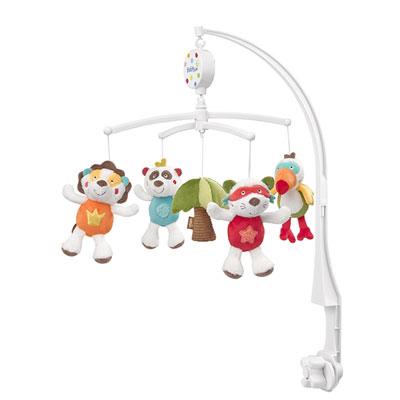 Mobile bébé musical jungle heros Babysun