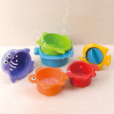 Jouets de bain bébé t'amis de la mer Babysun