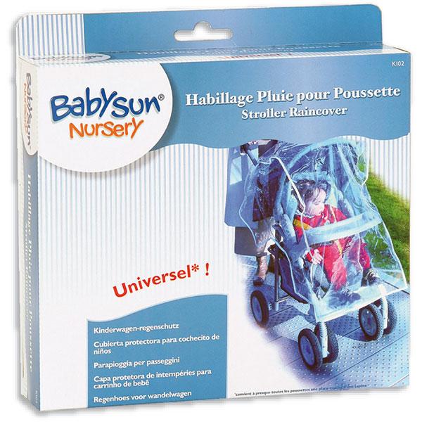 habillage pour pluie universel sans armature de babysun chez naturab b. Black Bedroom Furniture Sets. Home Design Ideas