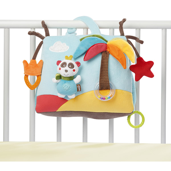 jouet d 39 veil b b musical et lumineux jungle heros de babysun chez naturab b. Black Bedroom Furniture Sets. Home Design Ideas