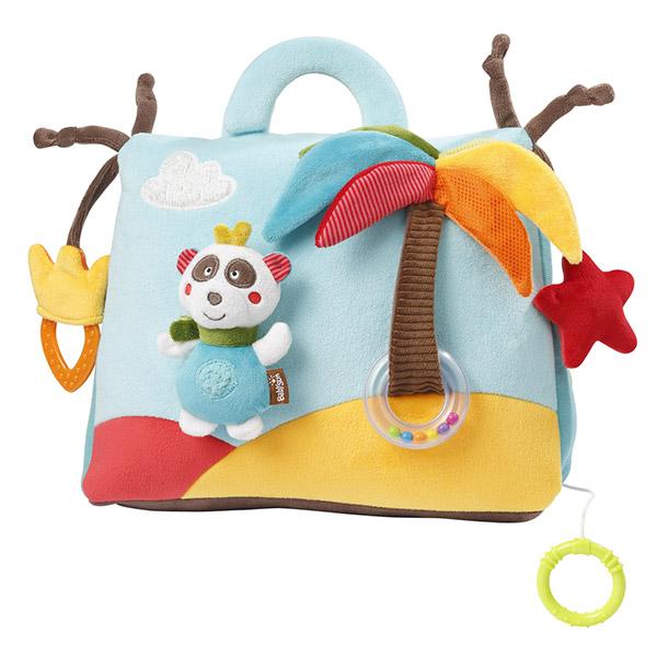 Jouet de lit bébé musical et lumineux jungle heros Babysun