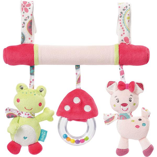 Jouet de lit bébé trapèze d'activités les coquettes Babysun