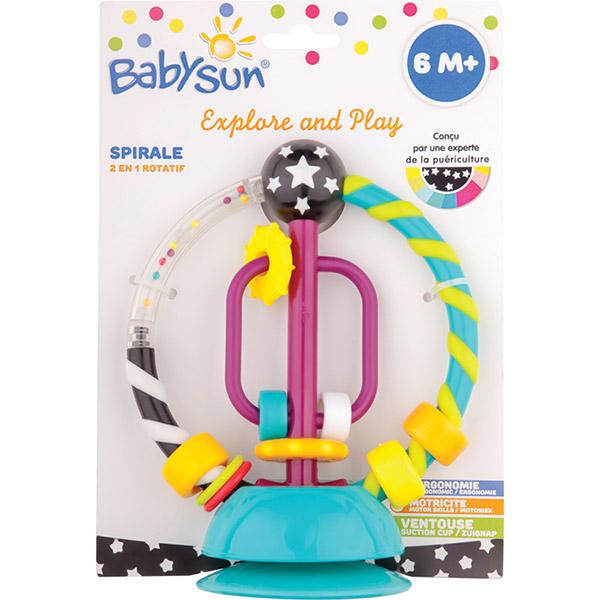 Hochet spirale 2en1 Babysun