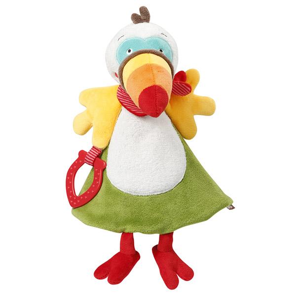 Doudou mouchoir deluxe toucan Babysun