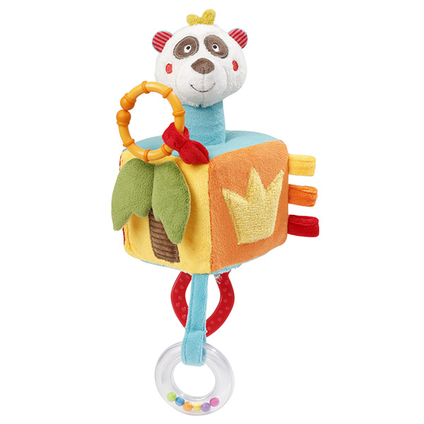 Jouet d'éveil bébé cube d'activités jungle heros Babysun