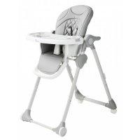Chaise haute bébé wheely gris
