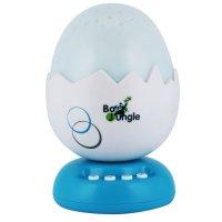Veilleuse œuf avec projection et musiques bleu