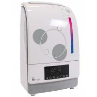 Humidificateur-purificateur digital avec système aromathérapie blanc/gris