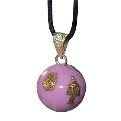Bayi bola violet signe azteques Bayi bola