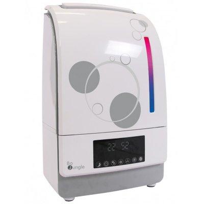 Humidificateur-purificateur digital avec système aromathérapie blanc/gris Bo jungle