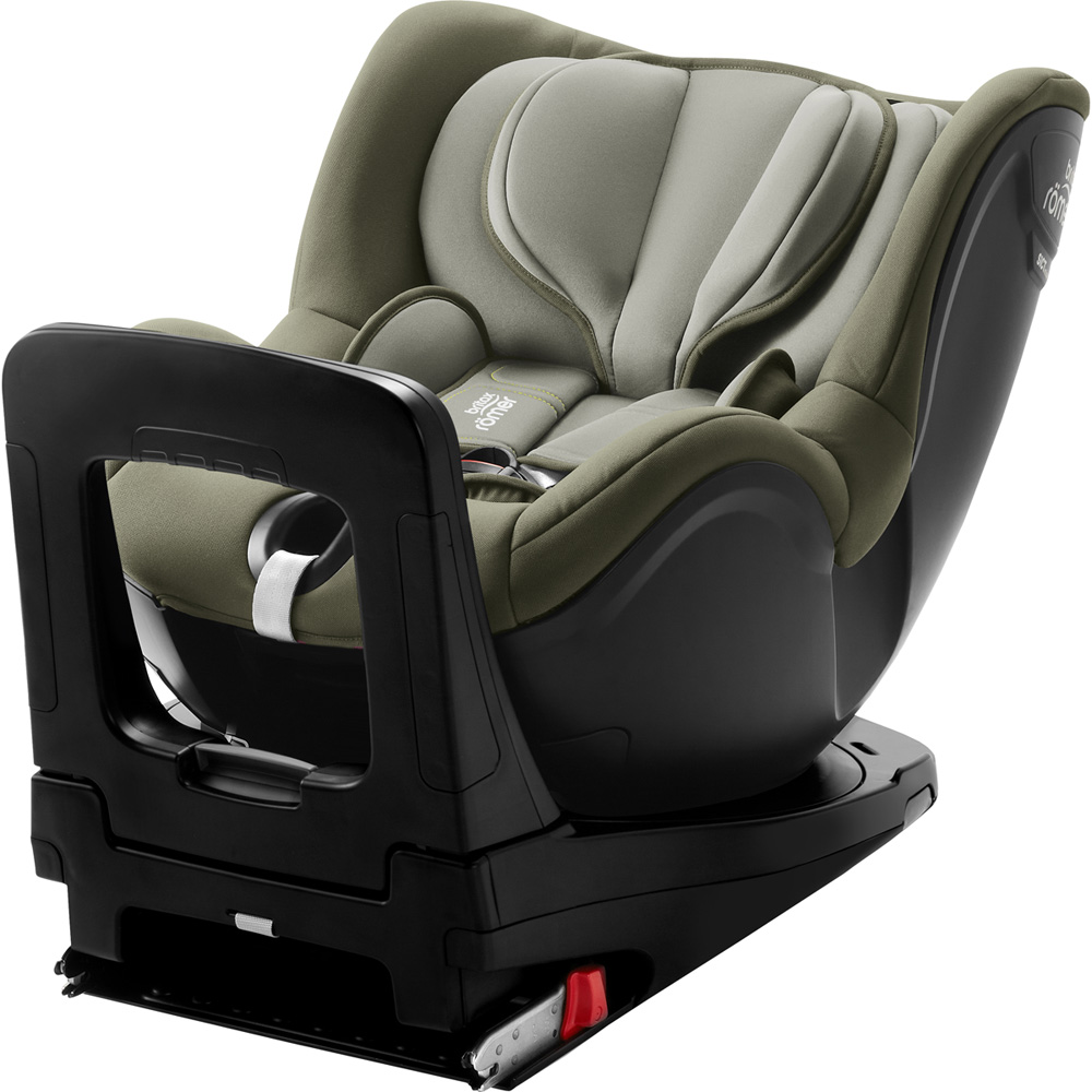 si ge auto dualfix i size olive green groupe 0 1 de britax sur allob b. Black Bedroom Furniture Sets. Home Design Ideas