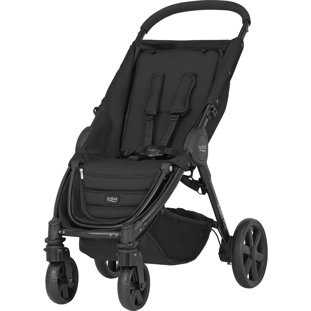 poussette 4 roues b agile cosmos black de britax chez. Black Bedroom Furniture Sets. Home Design Ideas