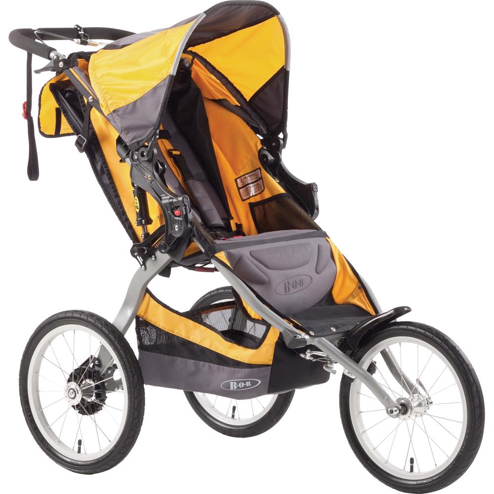 poussette 3 roues bob ironman yellow 25 sur allob b. Black Bedroom Furniture Sets. Home Design Ideas