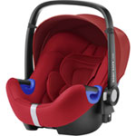 Siège auto coque baby-safe i-size flame red - groupe 0+/1