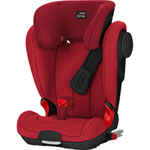 Siège auto kidfix 2 xp sict flame red/black series - groupe 2/3
