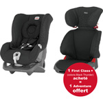 Siège auto first class + black thunder - gr 0+/1 + adventure offert pas cher