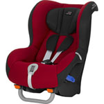 Siège auto max-way flame red/black series - groupe 1/2