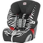 Siège auto evolva plus smart zebra -  groupe 1/2/3 pas cher