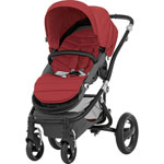 Poussette 4 roues affinity black/chili pepper pas cher