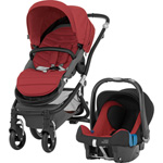 Pack poussette duo affinity black/chili pepper pas cher