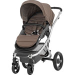 Poussette 4 roues affinity fossil brown pas cher