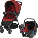 Poussette duo b-agile chili pepper pas cher