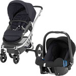 Pack poussette duo affinity black thunder pas cher