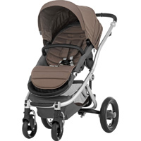 Poussette 4 roues affinity fossil brown