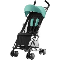 Poussette canne holiday aqua green