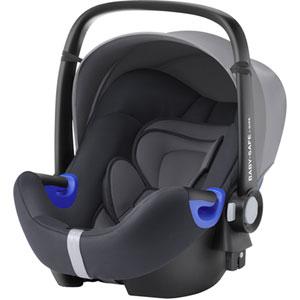 Siège auto coque baby-safe i-size storm grey - groupe 0+/1