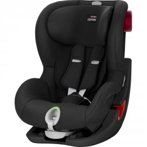 Siège auto king 2 ls cosmos black/black series - groupe 1