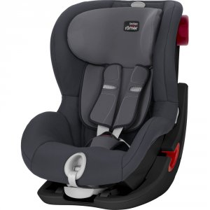 Siège auto king 2 ls storm grey/black series - groupe 1