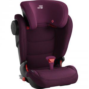 Siege auto kidfix 3 m burgundy red - groupe 2/3
