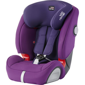 Siège auto evolva sl sict mineral purple - groupe 1/2/3